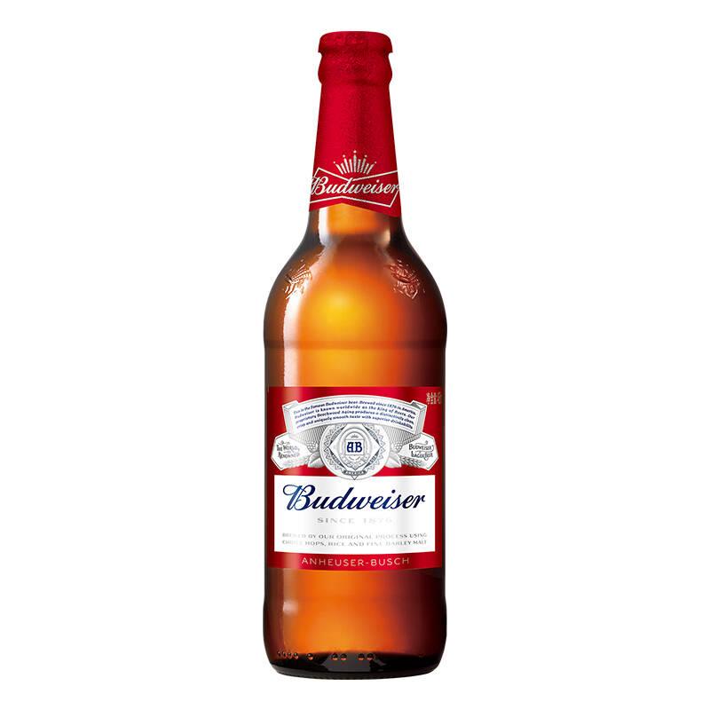 【日升酒水】百威(Budweiser)啤酒 大瓶装 460ml