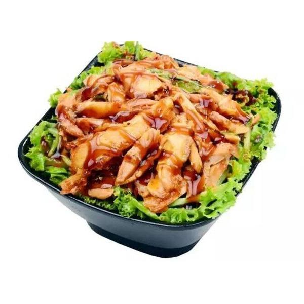 【孟氏巴西烤肉拌饭】蜜汁烤肉拌饭